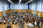 The STAR WARS Kinect sessions at Abbey Road with the London Symphony Orchestra and the London Voices choir