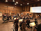 Recording strings at The Sony Scoring Stage