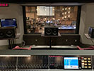 Control room view of choir recording sessions at Sony Scoring Stage