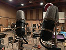 ribbon ORTF  recording sessions at Sony Scoring Stage