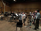 Another choir recording sessions at Sony Scoring Stage