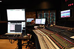 My view to the left while recording at Fox Scoring Stage