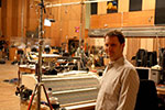 John at Fox Scoring Stage recording brass for Avatar the game