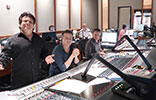 Benois Larry Sean Chris John and Tom at WB scoring stage