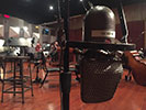 Recording with a vintage mic at Warner Bros Scoring Stage