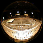 the SSL 9096 at Newman - over 18,000 knobs and buttons!
