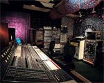 The control room at Cello (formerly Ocean Way) in Hollywood, CA